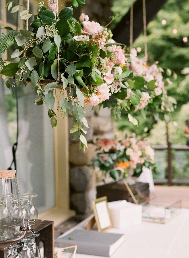 Decoracion colgante - Tendencia de boda 2016