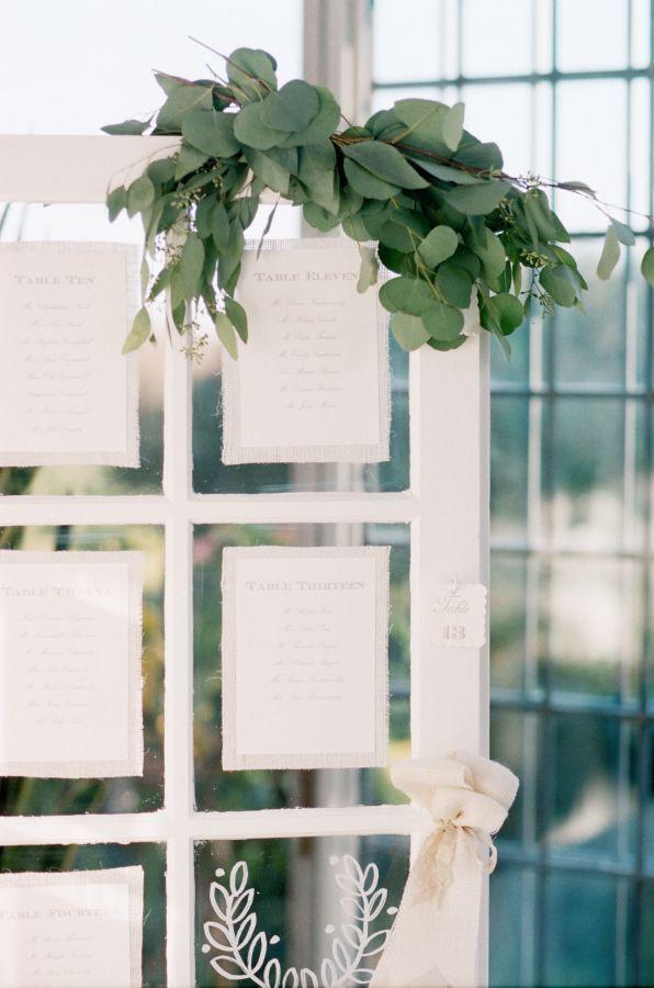 Detalles con hojas verdes - Tendencias de boda 2016