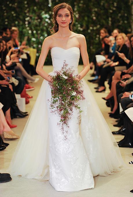 Vestido de Novia Carolina Herrera- Tendencias 2016
