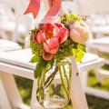 Ideas para decorar la boda con frascos de vidrio