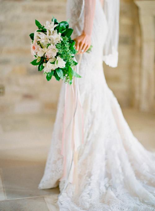 Ramo de novia natural