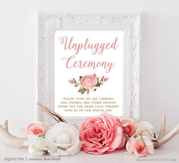 Por si no quieres que los invitados publiquen tu boda en sus redes sociales