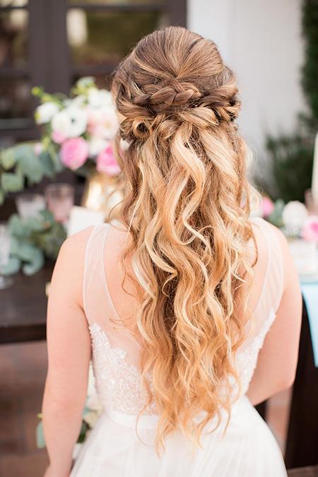 25 peinados de novia con pelo suelto el blog de una novia - Peinados y trenzas ...