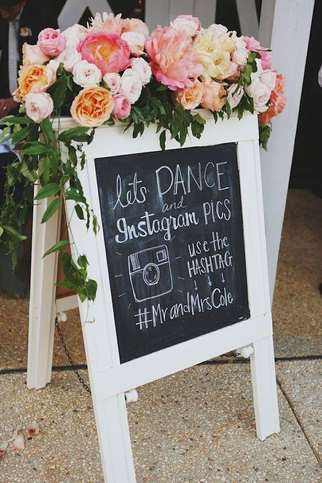 Redes sociales en la boda