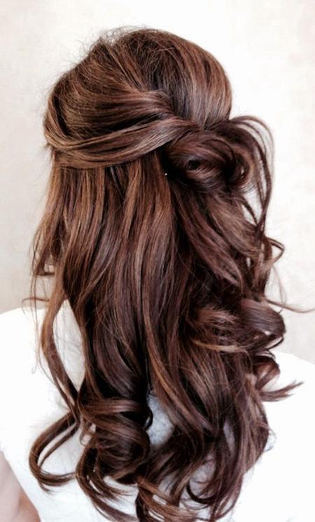 25 Peinados de Novia con Pelo Suelto El Blog de una Novia