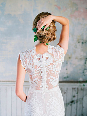 Vestido de Novia Claire Pettibone.