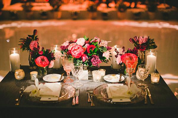 Ideas para la decoración de las mesas de la boda