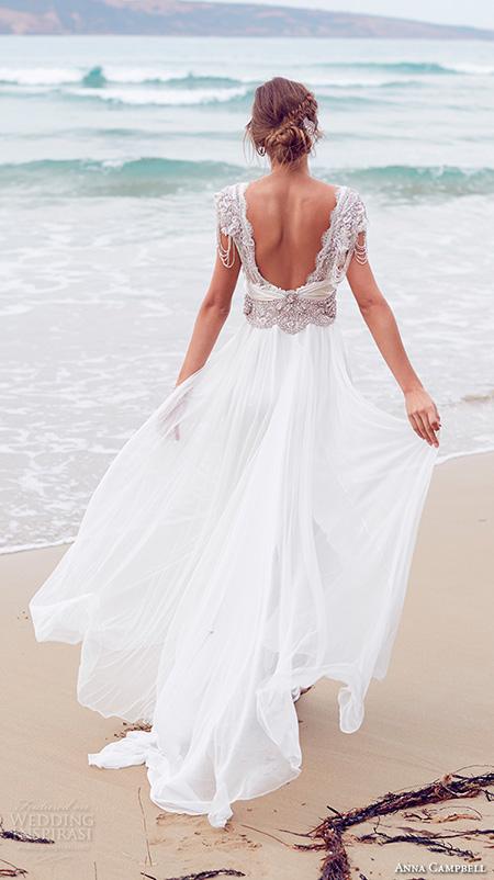Vestido de Novia para una Boda en Playa