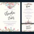 DIY invitaciones de boda, menus, save the date y tarjetas de agradecimiento
