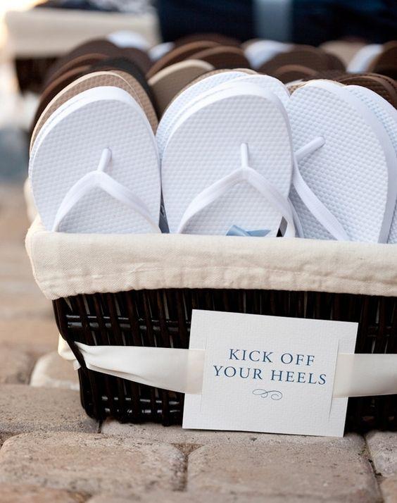 Para que tus invitados caminen por la arena