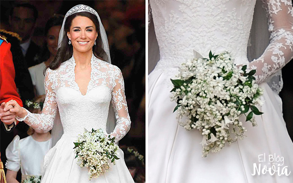 Ramo de Novia de Kate Middleton - Significado de las flores