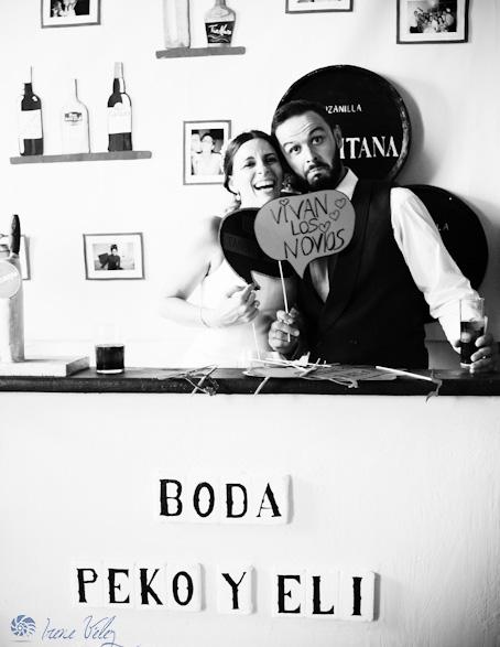 Idea de photocall para la boda