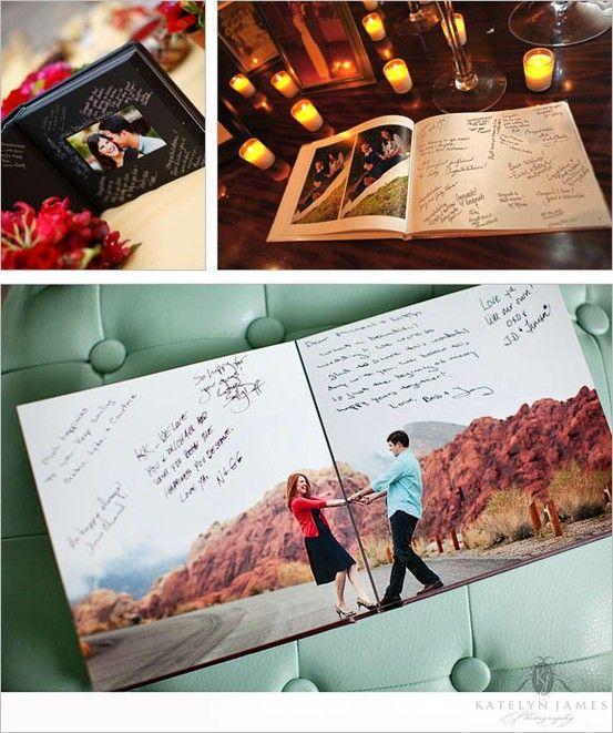 Ideas para el libro de firmas de la Boda