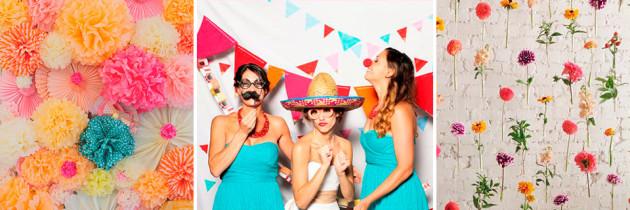 Photocall para Boda: Ideas de espacios divertidos para fotos en la fiesta