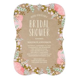 Ideas de invitaciones para la fiesta de la novia