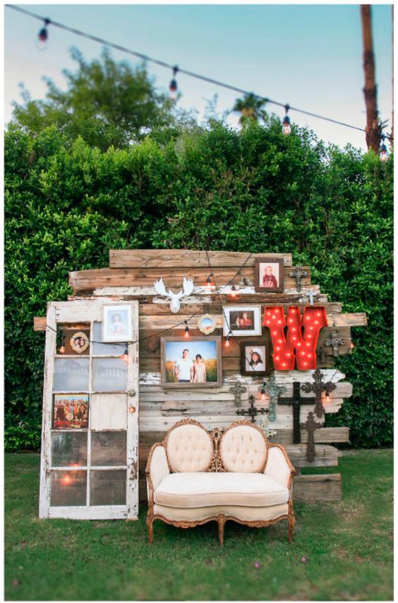 photocall para boda ideas de espacios divertidos para