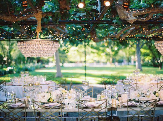 Elegir decoración de la boda