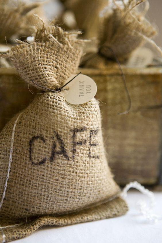 Costalito de café - DIY para regalar