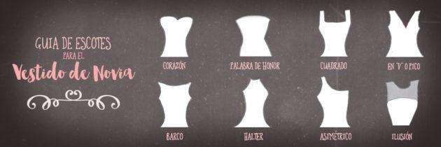 Guía de Escotes para el Vestido de Novia