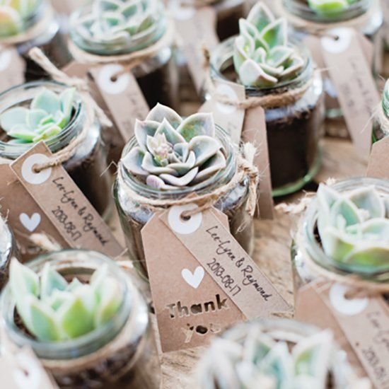 10 Ideas de Recuerditos de Boda