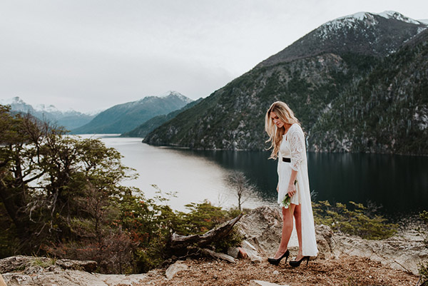 Sesión de fotos en La Patagonia