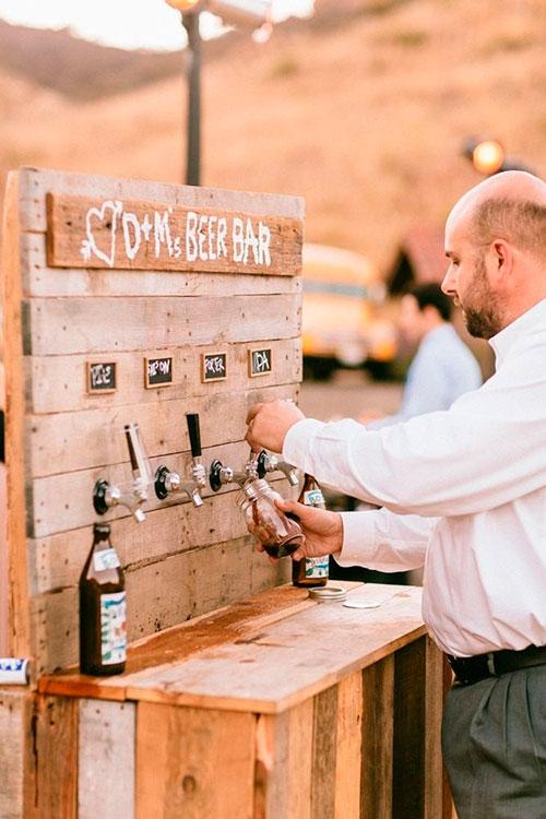 Ideas para las bebidas de la boda