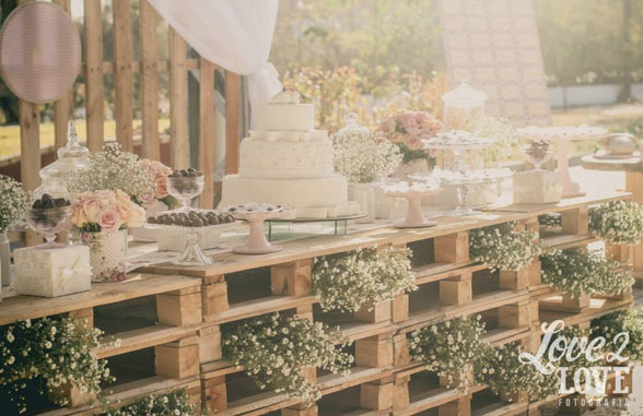 Detalles para una boda rústica chic