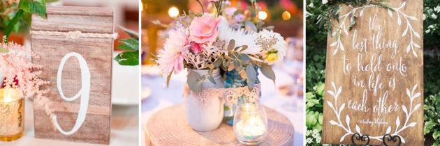 ideas de decoracin para boda rstica