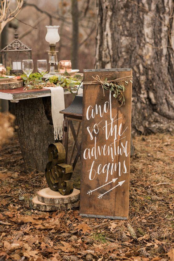 Ideas Para Matrimonio Rustico : Ideas de decoración para boda rústica el una novia
