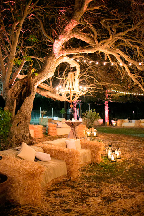 Ideas rústicas para la boda