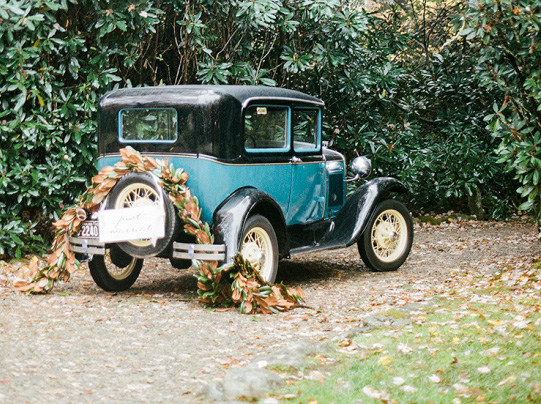 Auto Vintage: Ideas para el transporte de los novios