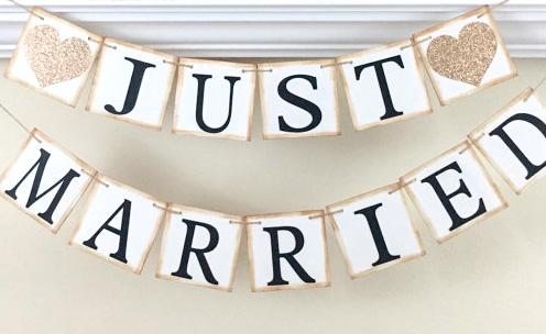 Banderines: Ideas para decorar el coche de bodas