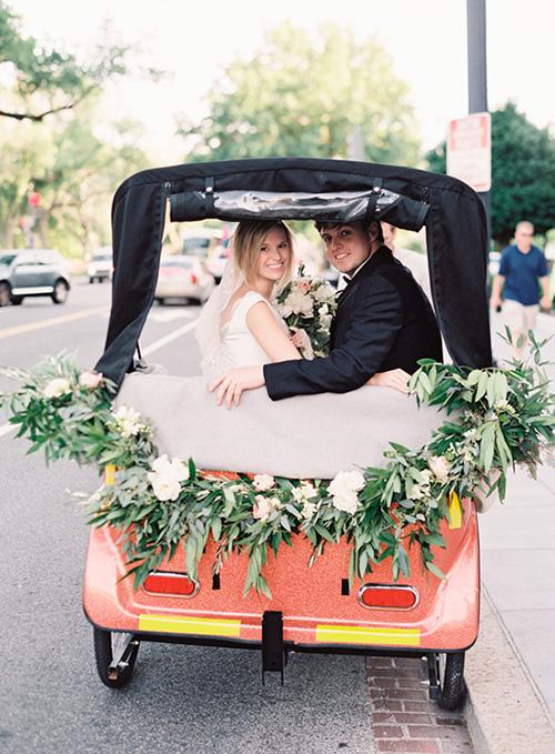 Bicitaxi- Transportes creativos para los novios