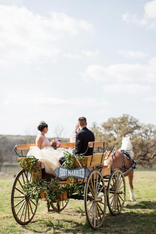 Carruaje de boda