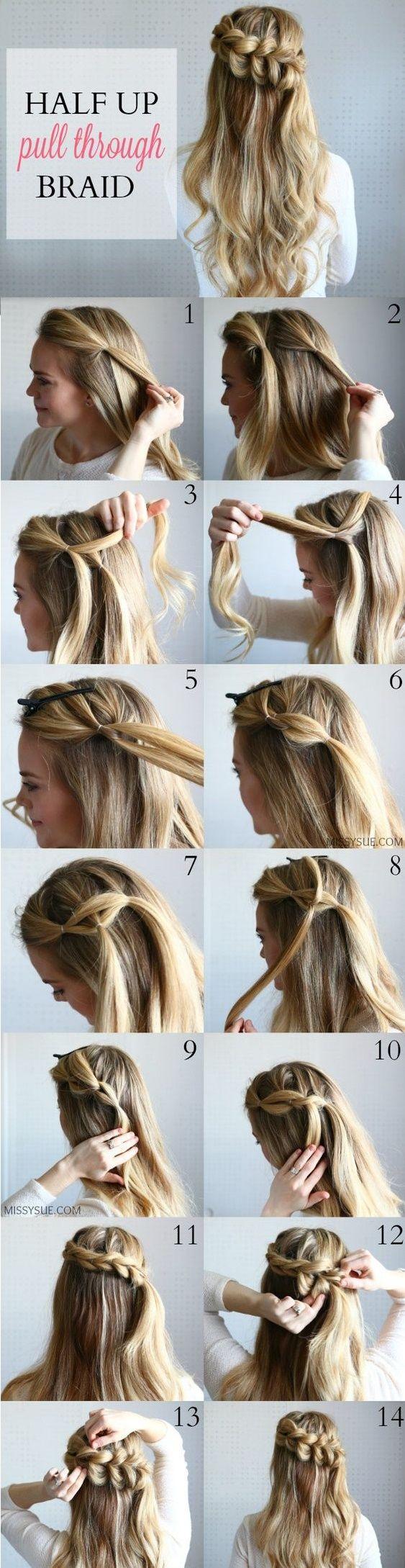Tutoriales peinados para damas e invitadas el blog de - Tutorial de peinados ...