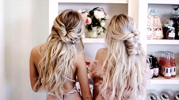 Ideas de peinados para damas de honor