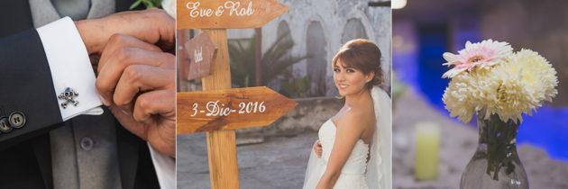 La Boda de Eve y Rob en Puebla
