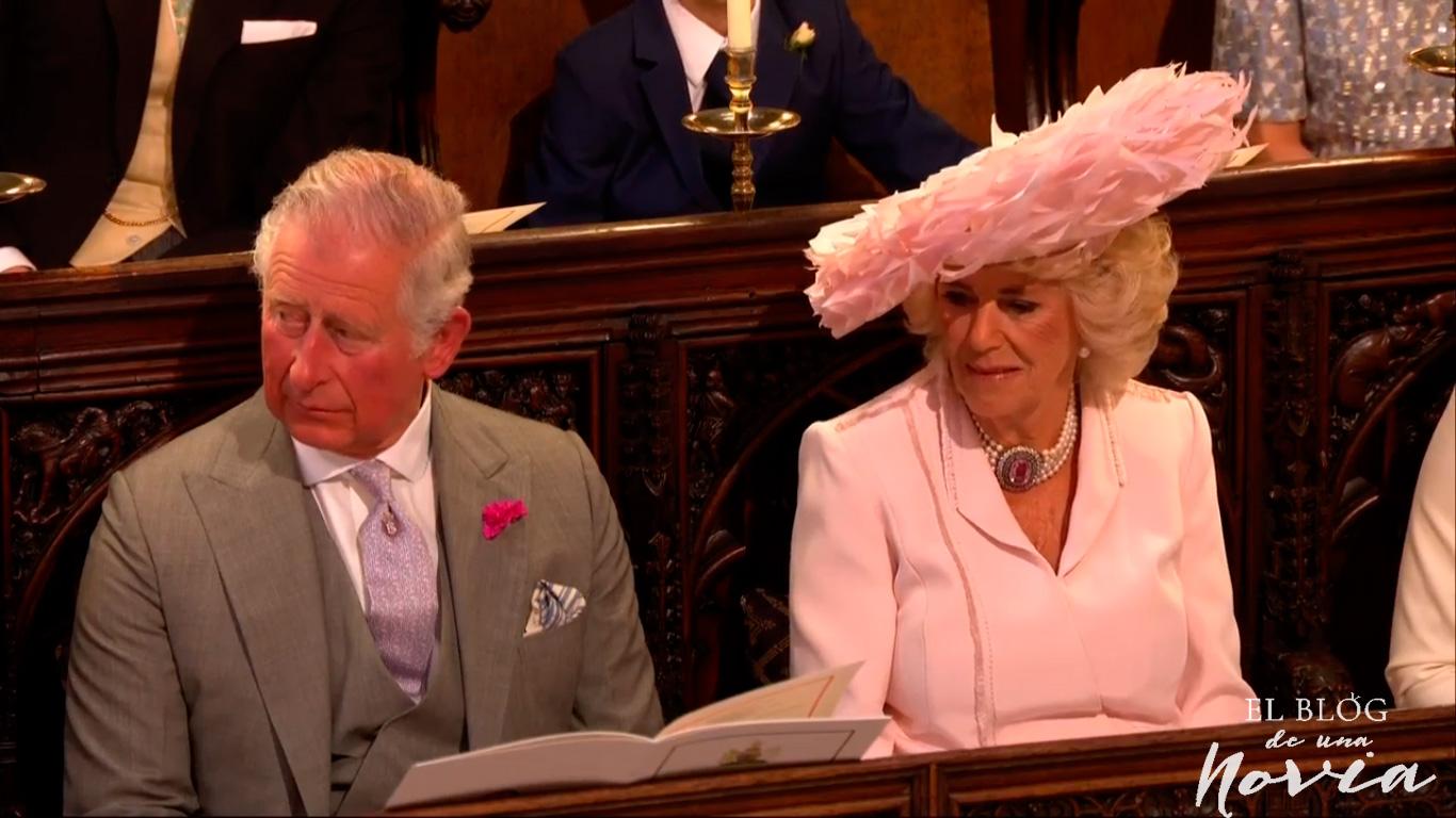 Príncipe Carlos y Camila