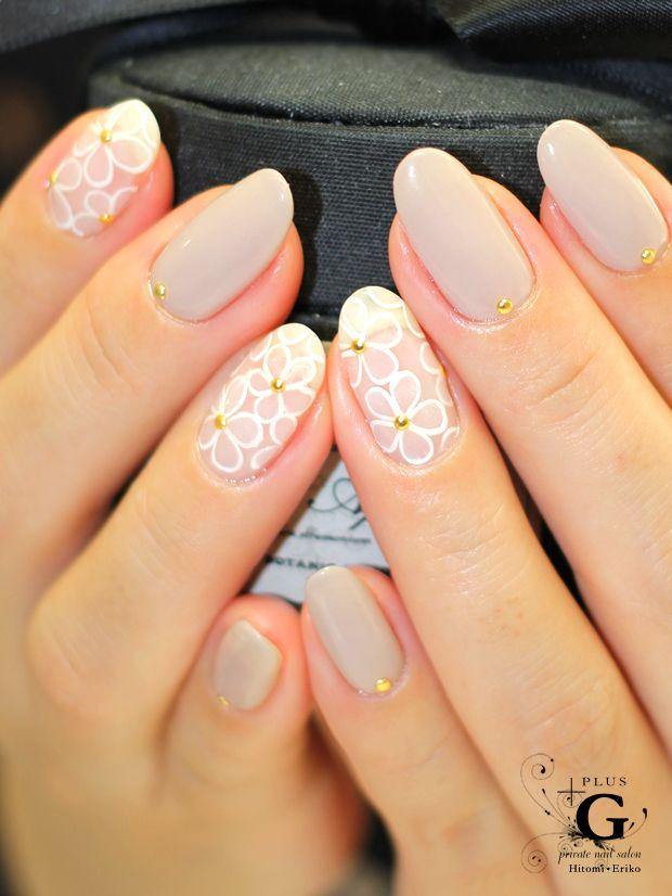 Manicure de Novia estilo cat nails