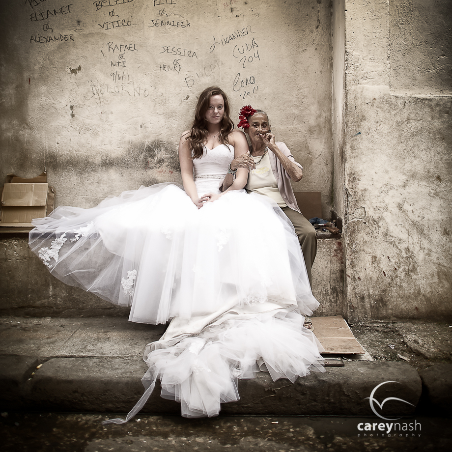 Trash the dress en Cuba