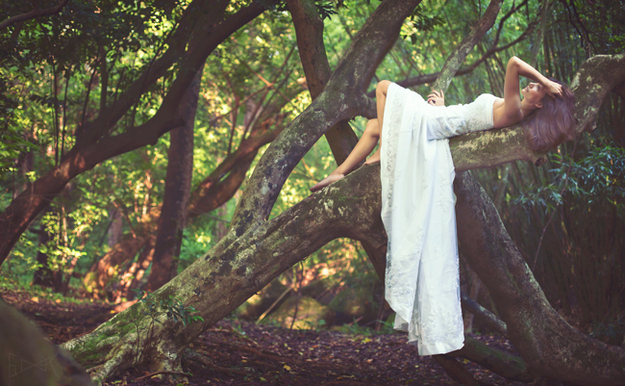 Trash the dress en el bosque