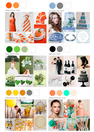 The Perfect Palette - Blog de Bodas con propuestas de combinaciones de colores