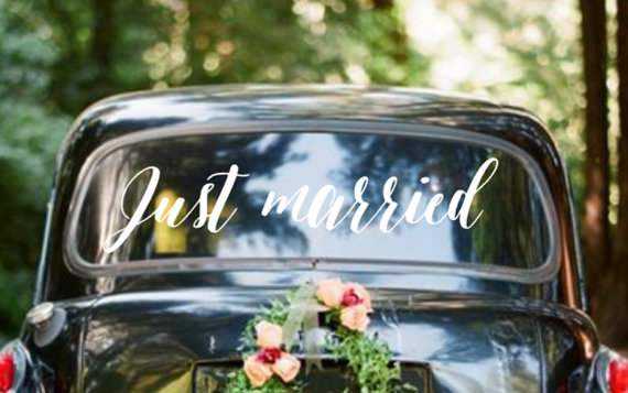 Ideas para decorar el transporte de los novios