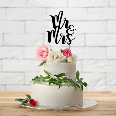 wedding cake toppers mr and mrs tendencias para personalizar la boda el de una novia 26547