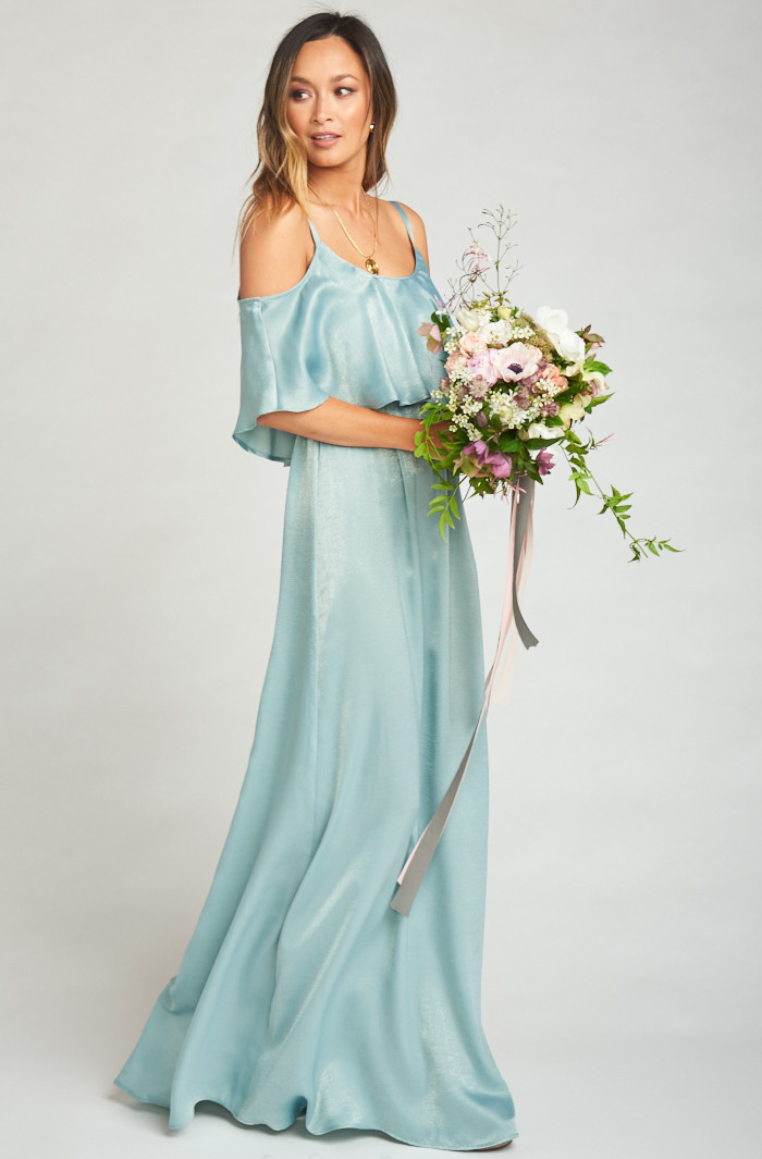 Dama de honor maxi dress - MuMu